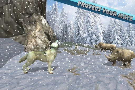 Arctic Wolf Family Simulator: Wildlife Animal Game 2.2 screenshots 9
