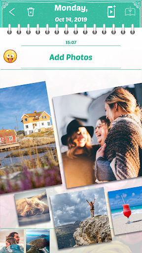 My Secret Diary with Lock and Photo 2.5.2 Screenshots 3