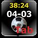 サッカー スコアーボード(Tab) - Androidアプリ