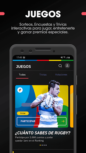 SAR - Sudamu00e9rica Rugby 2.5.1 screenshots 7
