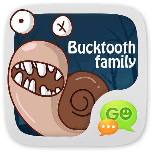GO SMS Pro BuckTooth Sticker For PC Windows (7, 8, 10 and 10x) & Mac Computer