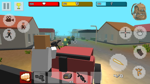 Zombie Craft Survival 3D: Free Shooting Game apkpoly screenshots 3