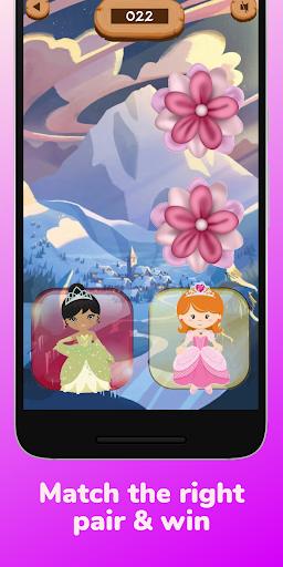 memory matching games 2-6 year old games for girls screenshot 2