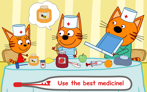 Kid-E-Cats Animal Doctor Games for Kidsu30fbPet Doctor  screenshots 10