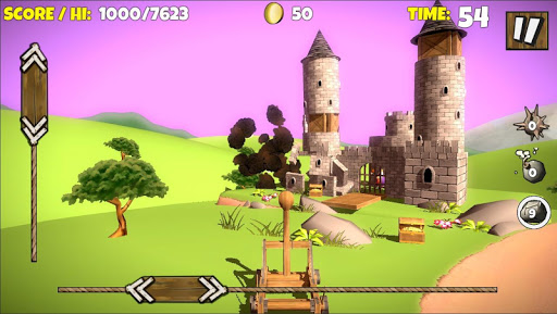 Catapult Shooter 3Dud83dudca5: Revenge of the Angry Kingud83dudc51 apkpoly screenshots 4