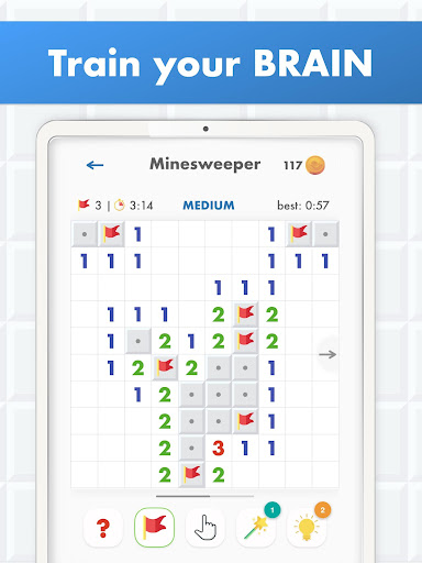Minesweeper Puzzle Game - Free For Android 4.0 screenshots 14