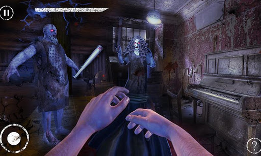 Haunted House Escape - Granny Ghost Games  screenshots 6