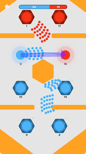 Clash of Dots - 1v1 RTS 0.6.7.1 screenshots 1