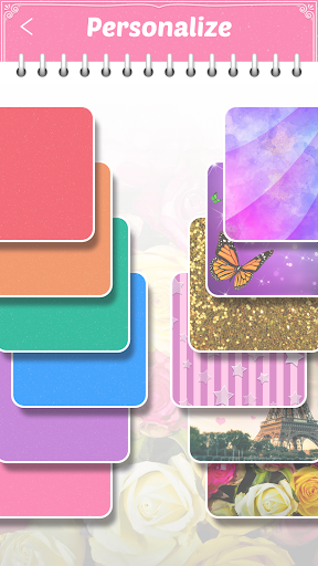 My Secret Diary with Lock and Photo 2.5.2 Screenshots 5