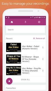 Karaoke: Sing & Record 8.4.1 Screenshots 3