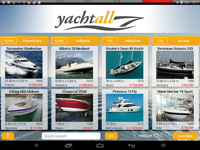 Yachtall.com - boats for sale