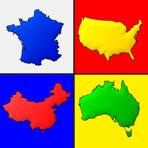 Mapas de todos los países del mundo - El mapa quiz