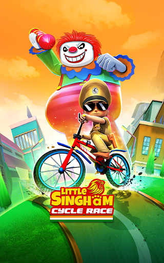 Little Singham Cycle Race