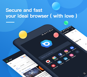 Nox Browser - Fast & Safe Web Browser, Privacy Screenshot