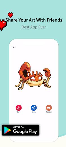 Pixel.Unicorn: Pixel Art Color By Number 11.0.0 screenshots 5