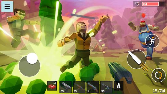 4 GUNS: Online Zombie Survival Mod Apk 1.04 (God Mode) 6