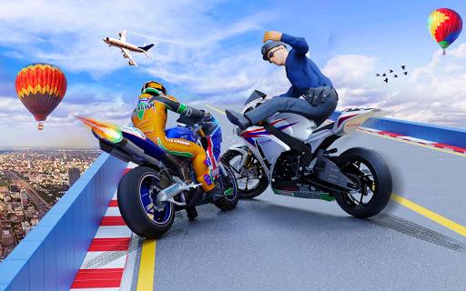 Police Bike Stunt GT Race Game Apkfinish screenshots 10