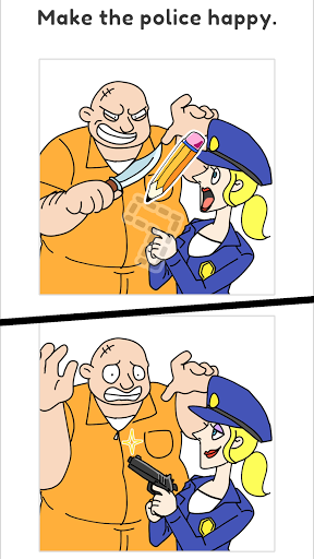 Draw Happy Police 0.2.6 screenshots 1