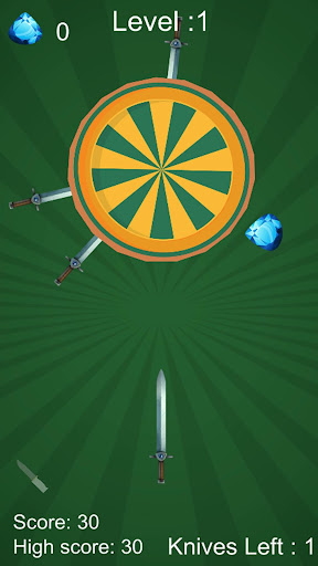 swipe knife: sling it, dart games screenshot 2