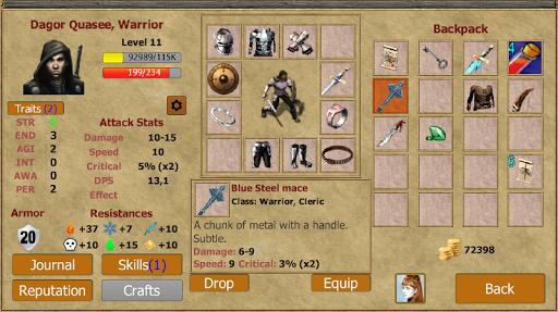 Exiled Kingdoms RPG 1.2.1124 Screenshots 3