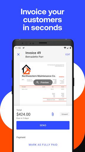 Simple Invoice Maker - Easy Estimate & Invoice App apktram screenshots 2