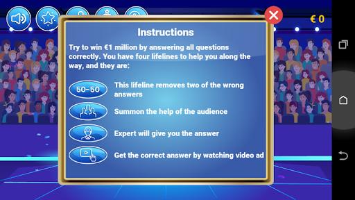 Millionaire Quiz 2020 - Qui veut des millions 1.0.4 Screenshots 4