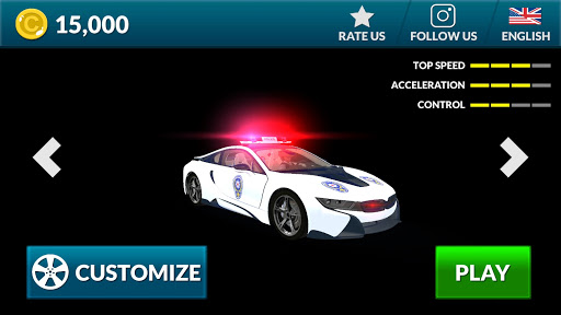 American i8 Police Car Game 3D 1.1 screenshots 12