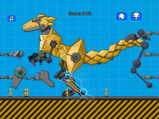 Robot Megalosaurus Dino War  screenshots 7