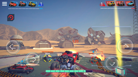 METAL MADNESS PvP: Car Shooter & Twisted Action Screenshot
