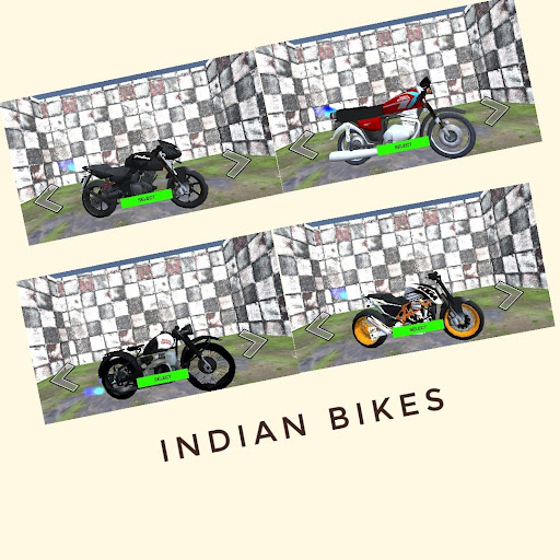 Indian Bikes Simulator 3D screenshots 1