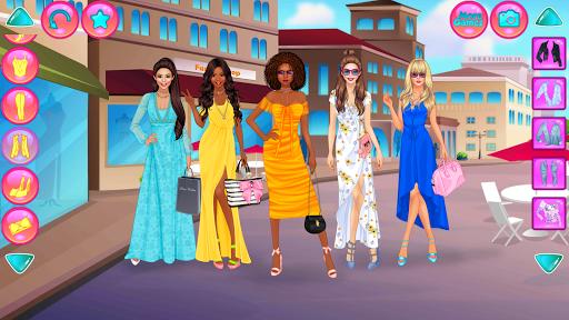Girl Squad Fashion - BFF Fashionista Dress Up  screenshots 7