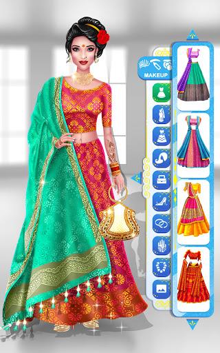 Wedding Fashion Stylist: Indian Dress up & Makeup 1.0 screenshots 19
