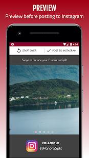 Panorama Split for Instagram - PanoraSplit