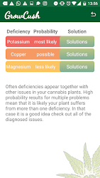 GrowCush - Cannabis deficiency detection .APK Preview 8