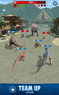 Jurassic World Alive 4