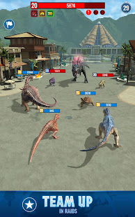 Mod Game Jurassic World Alive for Android