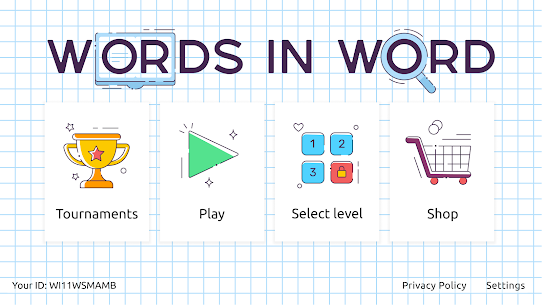 Words in Word Mod Apk 10.0.5 (Free Shopping) 1