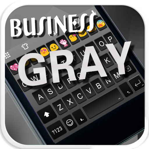 Business Gray Emoji Keyboard For PC Windows (7, 8, 10 and 10x) & Mac Computer