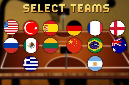 Real 3d Basketball : Full Game 1.8 screenshots 2
