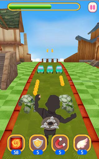 Ninja Hero Run apkdebit screenshots 5