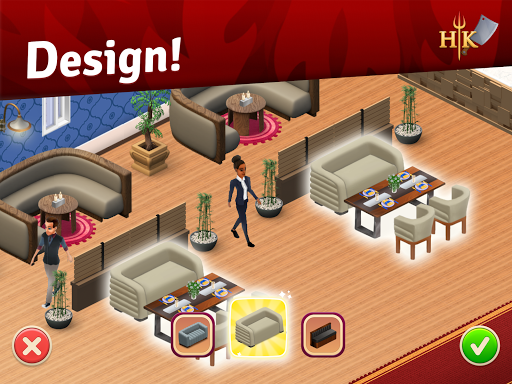 Hell's Kitchen: Match & Design 1.4.7 screenshots 11