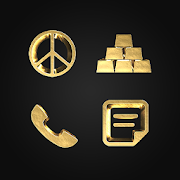 Solid Gold - Icon Pack (Free Version)