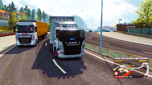 Lorry Truck Simulator:Real Mobile Truck Transport 1.2 screenshots 11