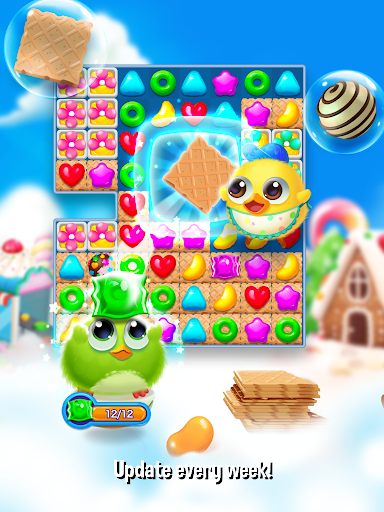 Bird Friends : Match 3 & Free Puzzle modavailable screenshots 20