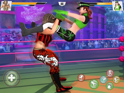 Bad Girls Wrestling Rumble: Women Fighting Games 8