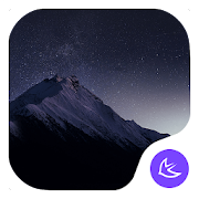 QUIET STAR-APUS Launcher theme