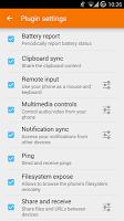 screenshot of KDE Connect