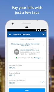Chase Mobile Screenshot