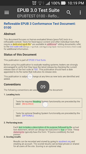 Reasily - EPUB Reader Apkfinish screenshots 4