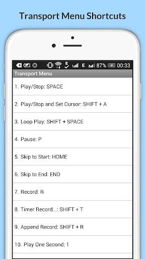 Free Audacity Shortcuts 6.6.6.2 Screenshots 13